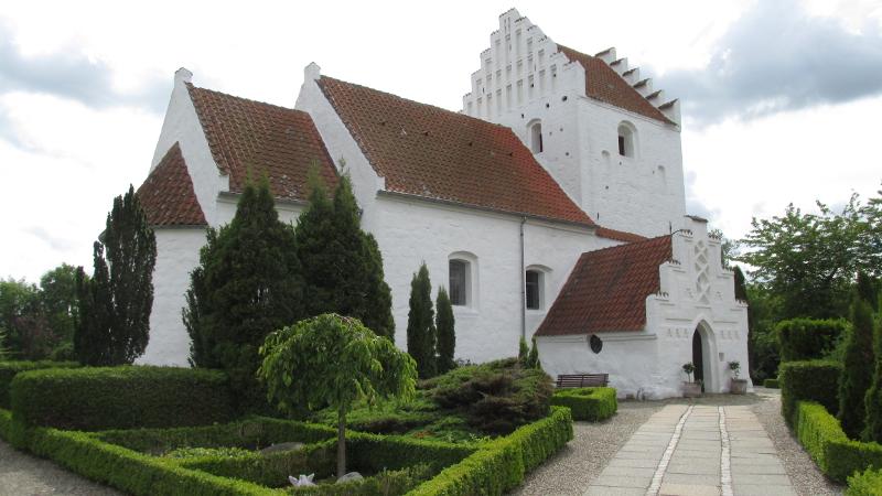 Grandløse Kirke. Foto: Rolf Larsen.