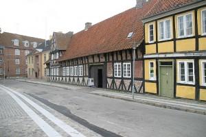 Holbæk Museum er indrettet i 13 gamle bygninger. Foto: Rolf Larsen.