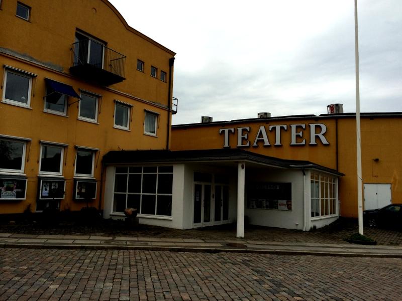 Holbæk Teater. Foto: Rolf Larsen.