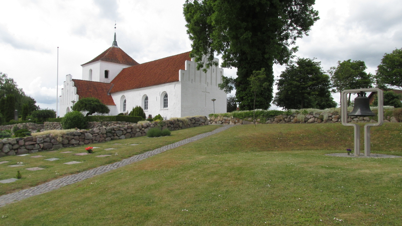 Kirke Eskilstrup Kirke. Foto: Rolf Larsen.