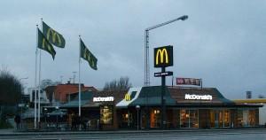 McDonalds i Holbæk. Foto: Rolf Larsen.