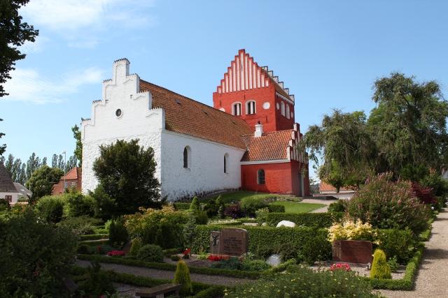 Udby Kirke. Foto: Rolf Larsen.