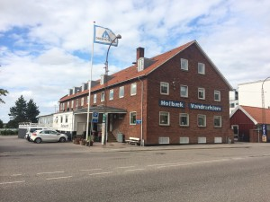 Hotel Sidesporet - bemærk gammelt foto. Foto: HolbækGuiden.dk