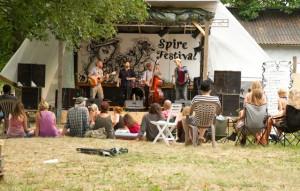 Spirefestival er tre dage med musik og kunst. Foto: Michael Johannessen.